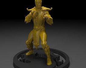 Scorpion Mortal Kombat 3D Printing mortal