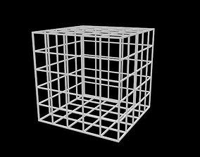 3D model Latice box
