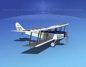 Curtiss JN-2 Jenny V11 US Air Mail 3D model