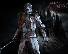 Knights 3D asset animated