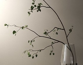 3D model Echasse Vase with Branch