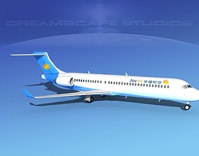3D model Comac ARJ21-700 Joy Air
