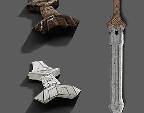 3D model Thorin sword