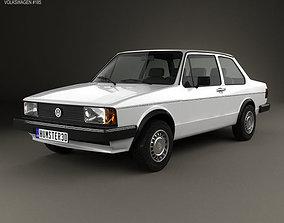 Volkswagen Jetta 2-door 1979 typ 3D model