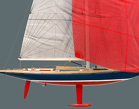3D model Leonardo Yacht Eagle 54