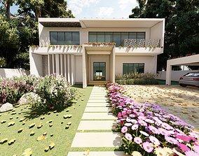 other 3D printable model Luxury Villa Concept