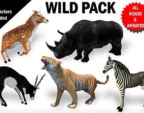 3D Wild Animals Pack