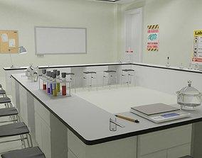 3D model Laboratory and Lab Equipments