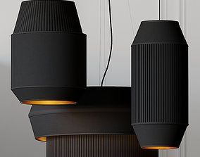 3D Delta IV-II-III Pendant Lights By Rich Brilliant