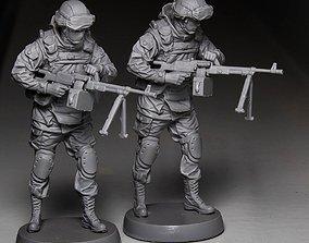 3D print model war Soldier