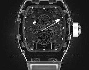 Richard Mille RM 56-02 Sapphire Watch 3D model