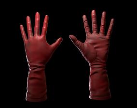 3D asset Red Glove