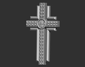 3D print model jewelry religious cross jesus
