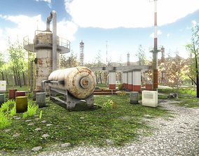 Industrial Area 4 3D asset