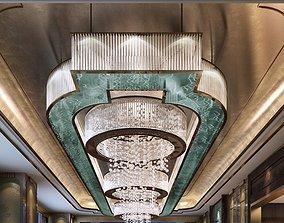 3D hotel lamp 46