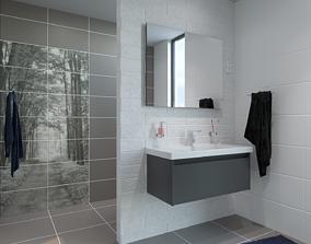 3D asset Bathroom 08