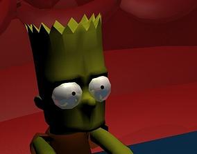 3D model Bart Simpsons
