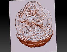 Buddha bodhisattva 3D model