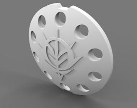 Custom MG 1 100 YMS 15 Gyan shield 3D printable model