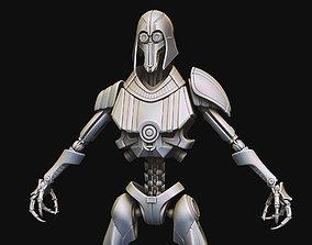 Eg5 Hunter Droid 3D model
