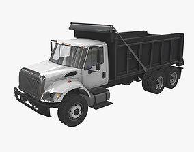 3D model Dump Truck International 7400