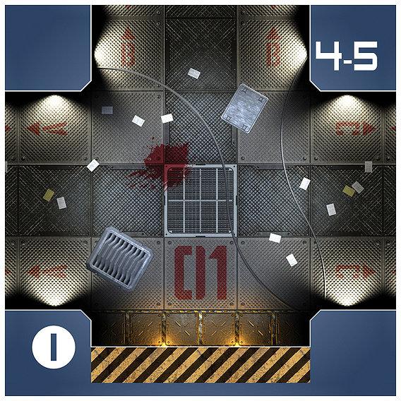Star Troopers: Lost Station - Sample tiles