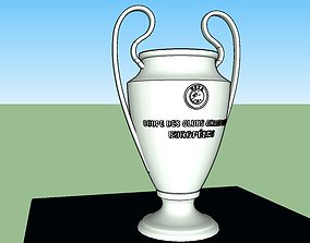 UEFA Champions League Trophy 3D print model