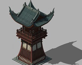 Tang Luoyang City - Turret 01 3D