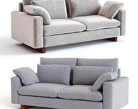 3D West Elm Harmony Sofa