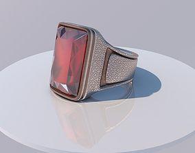 3D model Ruby ring