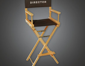 3D asset HLW - Production Chair 02- PBR Game Ready