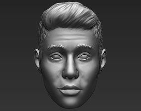 Justin Bieber standard version only mesh 3D model