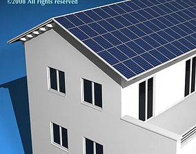 Ecological house2 3D