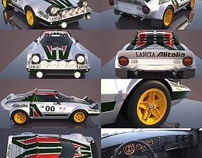 Lancia Stratos 3D model
