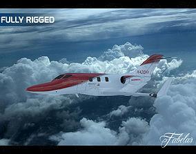 3D model Honda jet