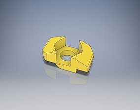 3D printable model T-Nut Slot 6 Adapter to Hexagon Nut M3
