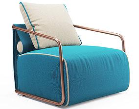 Adex Lounge Armchair 3D asset