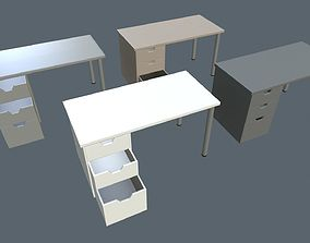 Writing tables 3D model