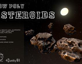 3D model Low Poly Asteroids