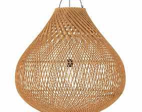 3D Bazar Bizar BOTTLE Rattan lampshade