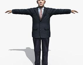 3D model Asian Man 04