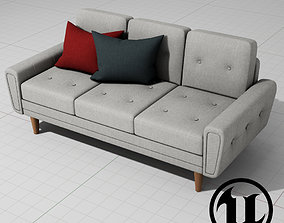 Harvey Sofa Classic UE4 3D model