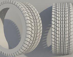 Realistic Tyre Tread 3D model