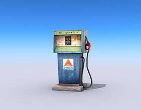 Gas Pump 3D model VR / AR ready