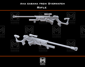 Ana Cabana Rifle cosplay diy 3D print model