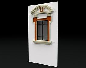 3D model Classic 6 window
