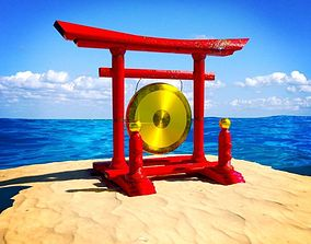 3D model Chinese Gong