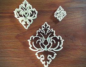 3D print model Damask Pattern cutter