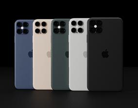 3D model Apple iPhone 12 Pro Max 4 Camera Set-up Concept 2