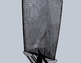 aircraft Turbine Blade Desk Model